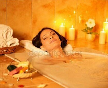 фото расслабления в ванной